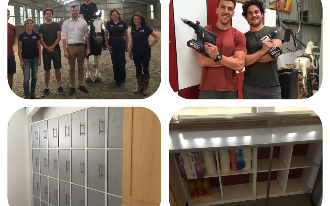 Witley Jones help us out with some beautiful new storage