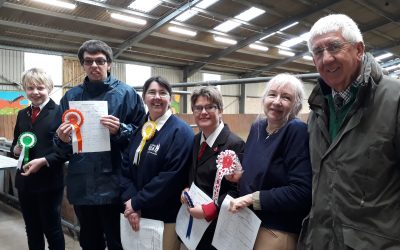 Inspired riders compete in Dressage Competition